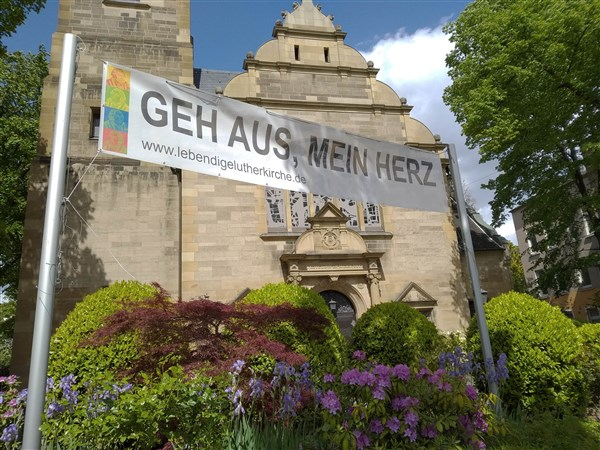Endlich wieder Präsenzgottesdienste in Luther