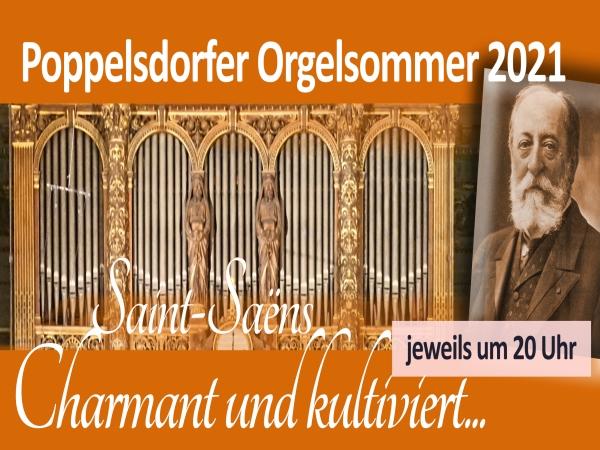 Poppelsdorfer Orgelsommer 2021 kann stattfinen!