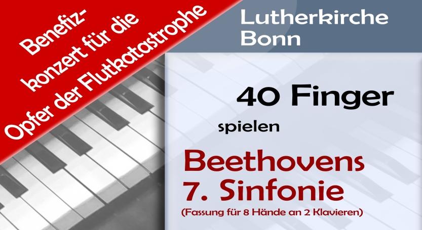 Klavierkonzert für die Opfer der Flutkatastrophe