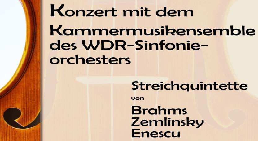 Kammermusikensemble des WDR zu Gast in der Lutherkirche