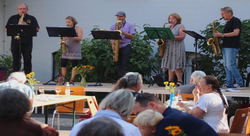 Saxophone spielen für die Orgel – 07.11.2021